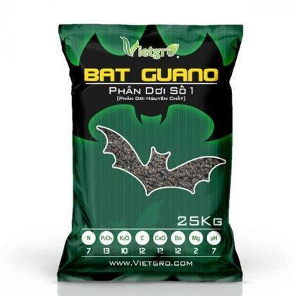 Túi phân dơi hữu cơ 25kg Vietgro
