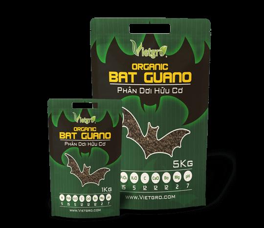 Túi phân dơi số 1 - phân dơi hữu cơ Bat Guano