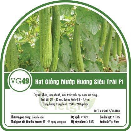 Hạt giống mướp hương siêu trái VG49