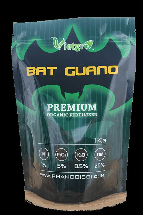 Phân dơi số 1 - Túi phân dơi 1kg (Bat Guano)