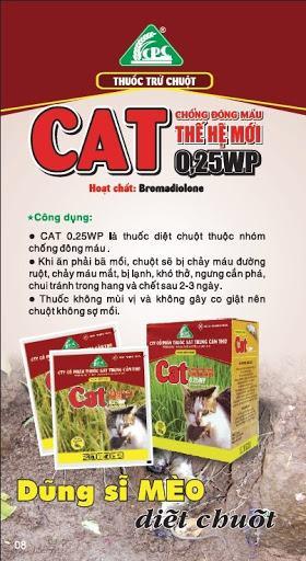 Thuốc diệt chuột CAT 0.25WP