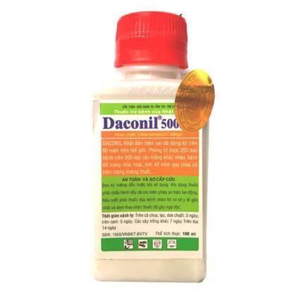 Daconil 500SC - Thuốc đặc trị bệnh thán thư, đốm lá