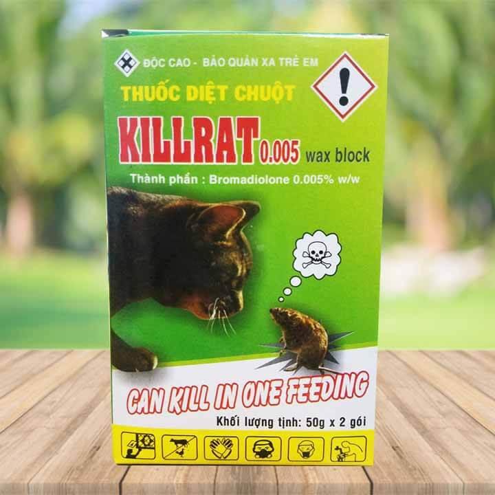 Thuốc Diệt Chuột Killrat 0.005 Wax Block