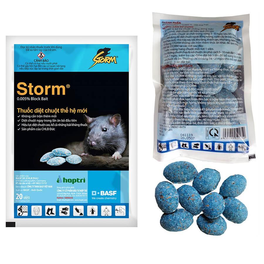 Thuốc diệt chuột Storm 0.005% Block bait