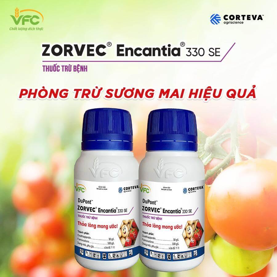 Zorvec Encantia 330SE – Thuốc trừ bệnh Đặc trị bệnh sương mai