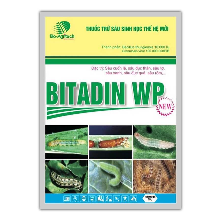 Bitadin WP (10g) - Thuốc trừ sâu sinh học