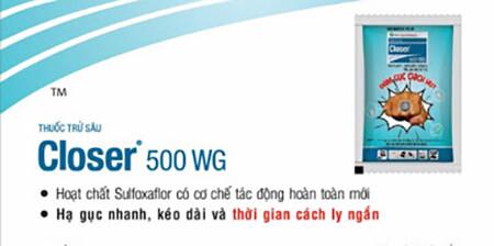 Closer 500WG (8g) - Thuốc trừ sâu
