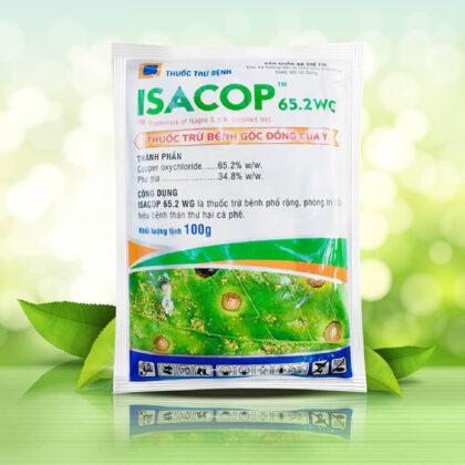 Isacop 65.2 WG (100g) - Thuốc trừ bệnh thế hệ mới