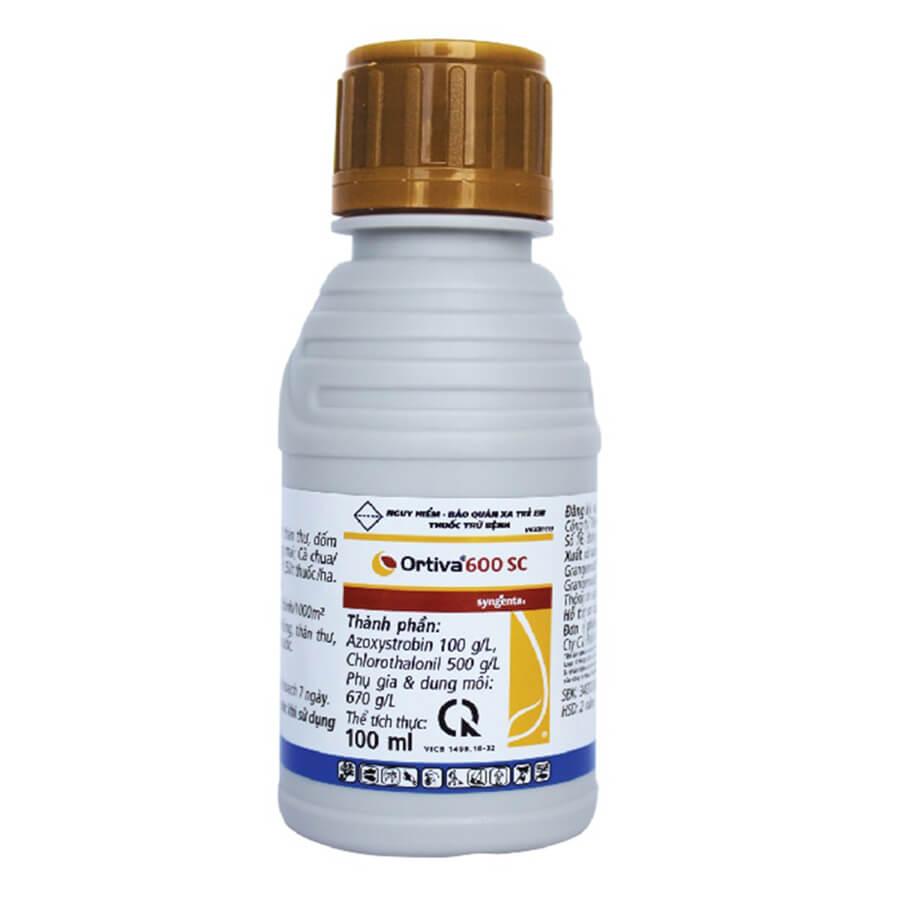 Ortiva 600SC (100ml) - Thuốc trừ bệnh
