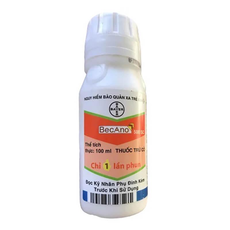 Becano 500SC (100ml) - Thuốc trừ cỏ đặc hiệu Bayer