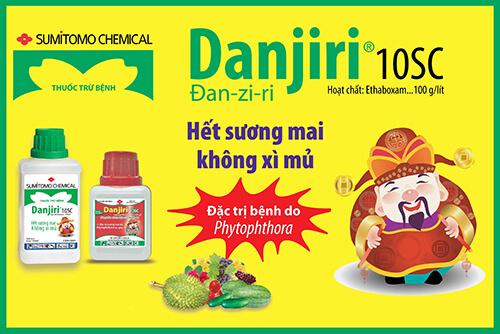 Danjiri 10SC (100ml) - Thuốc trừ bệnh