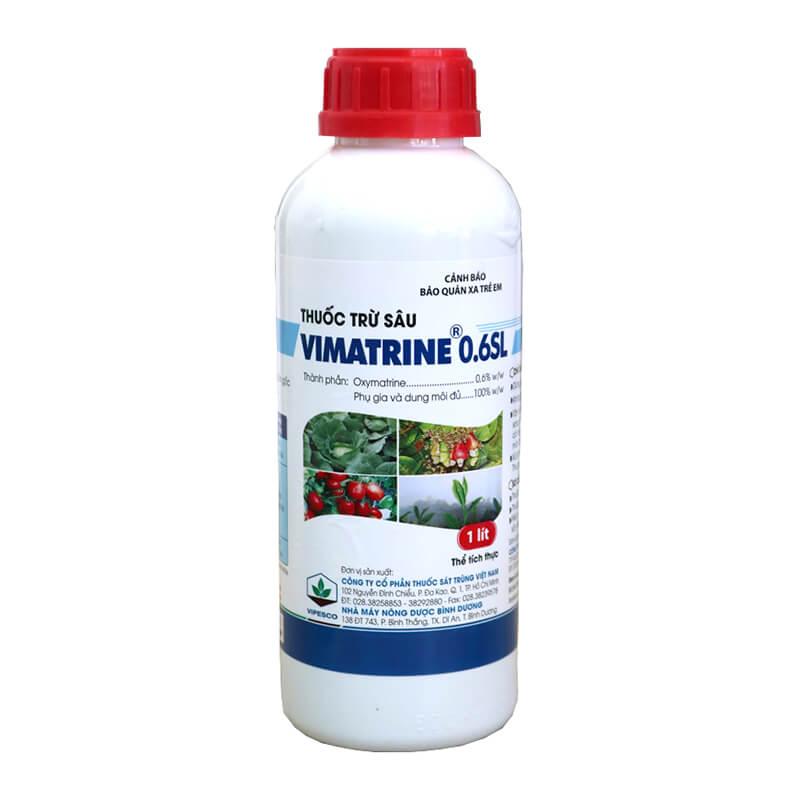 Vimatrine 0.6SL (1 lít) - Thuốc trừ sâu