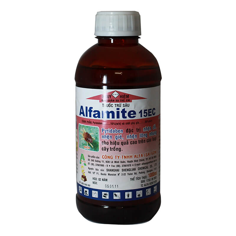 Alfamite 15EC (1000ml) - Thuốc trừ nhện