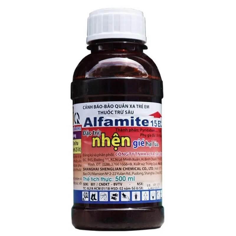 Alfamite 15EC (500ml) - Thuốc trừ nhện