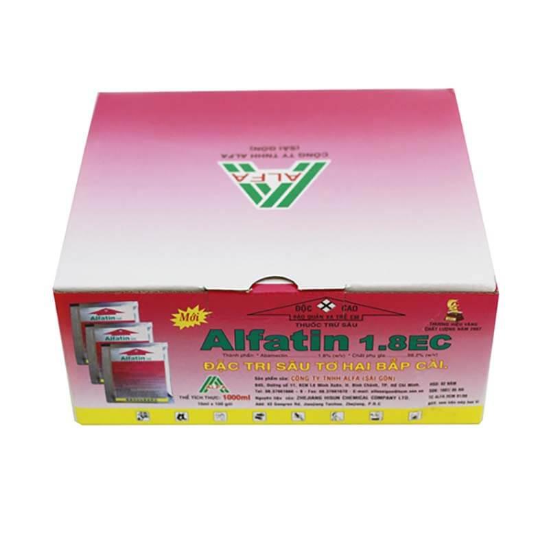 Alfatin 1.8 EC (10ml) - Thuốc trừ sâu sinh học