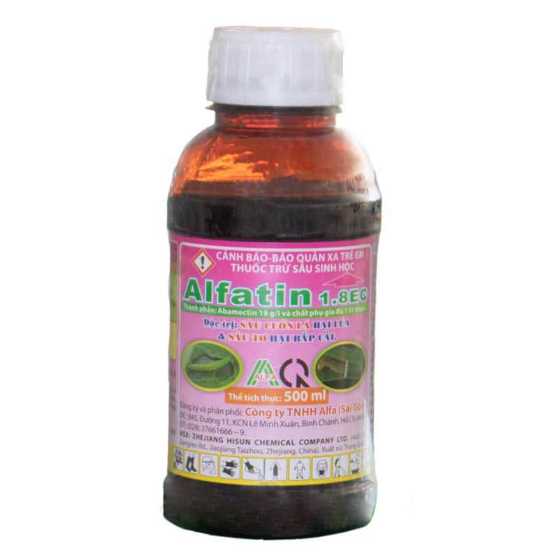Alfatin 1.8 EC (500ml) - Thuốc trừ sâu sinh học