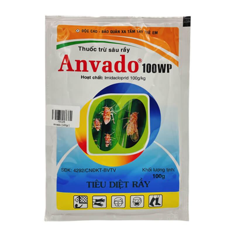Anvado 100WP (100g) - Thuốc trừ rầy