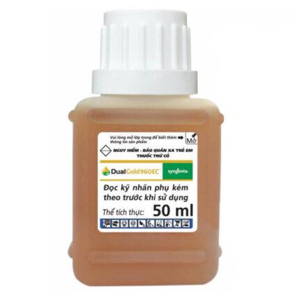 Dual Gold 960EC (50ml) - Thuốc trừ cỏ tiền nảy mầm