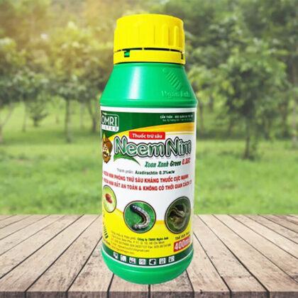 Neem Nim Xoan Xanh Green 0.3 EC (400ml) - Thuốc trừ sâu sinh học