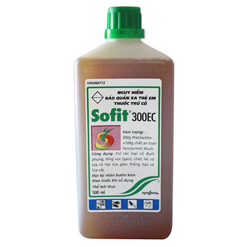 Sofit 300EC (500ml) - Thuốc diệt cỏ Syngenta