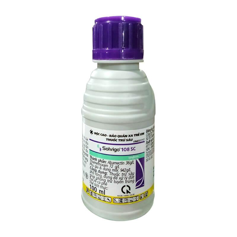 Solvigo 108SC (100ml) - Thuốc đặc trị tuyến trùng