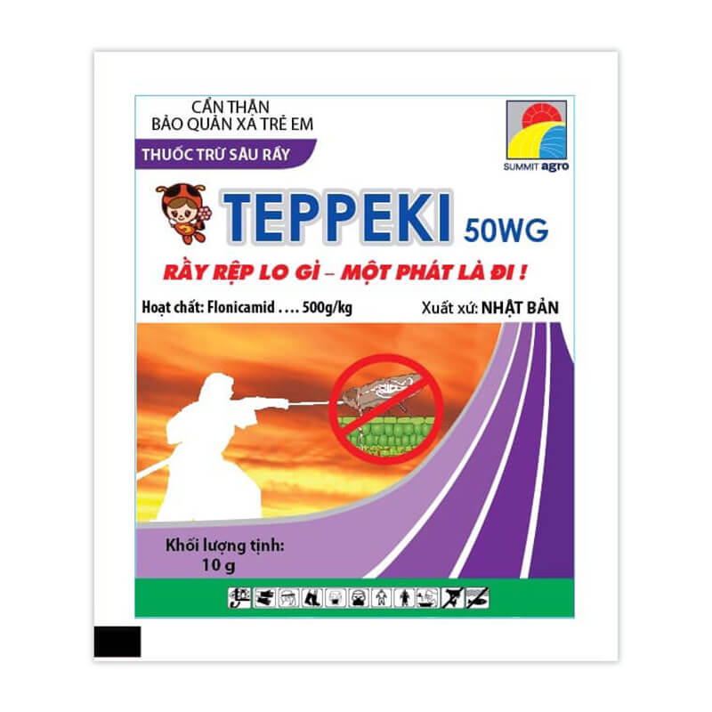 Teppeki 50WG (10g) - Thuốc trừ sâu