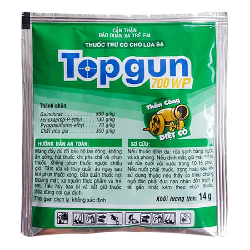 Topgun 700WP (14g) - Thuốc trừ cỏ
