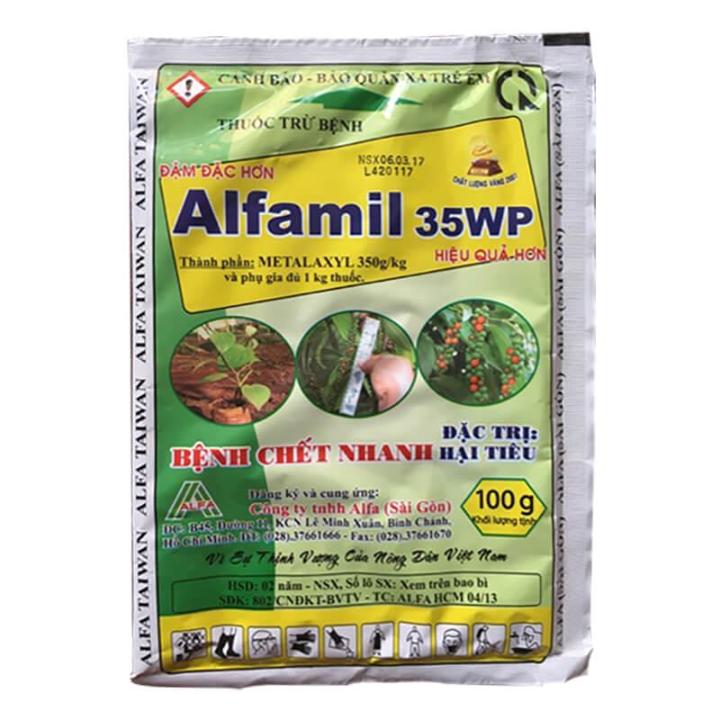 Alfamil 35WP (100g) - Thuốc trừ bệnh