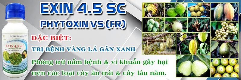 Exin 4.5SC - FR (100ml) - Thuốc trừ bệnh sinh học