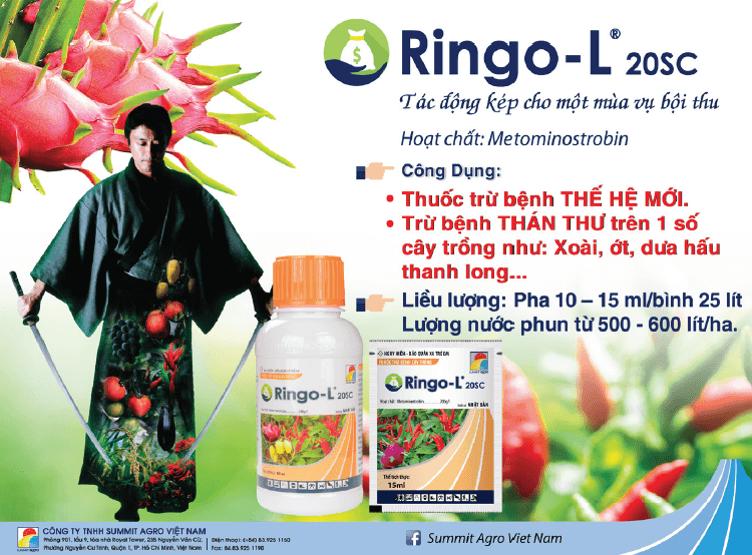 Ringo-L 20SC - Thuốc trừ bệnh