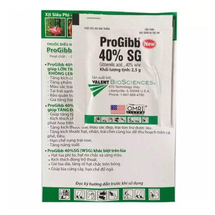 ProGibb 40%SG (2.5g) - Thuốc điều hòa sinh trưởng