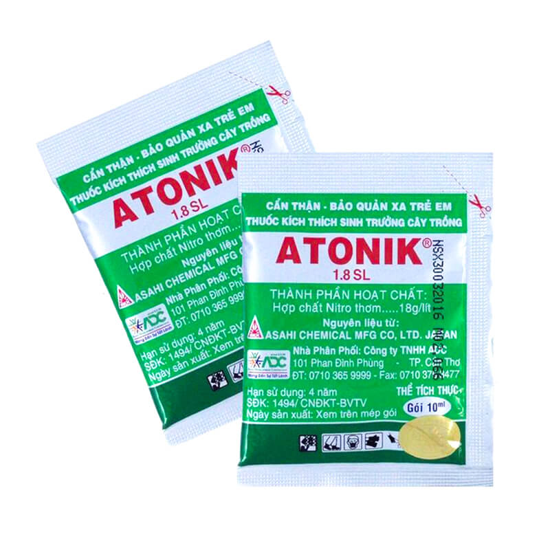 Atonik 1.8SL (10ml) - Thuốc điều hòa sinh trưởng