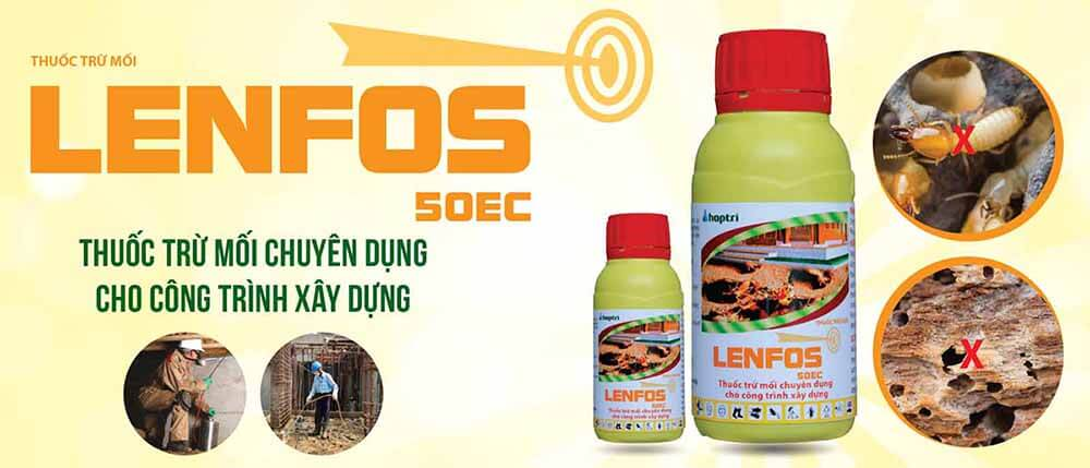 Lenfos 50EC - Thuốc diệt mối